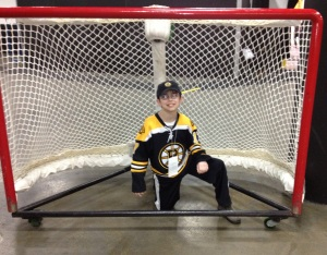 In the net before Tuukka was