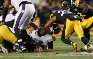 The Steelers defense will pounce on Joe Flacco and the Ravens offense.