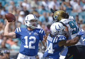 Andrew Luck and the Colts will dominate the Jags again