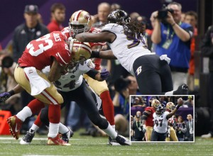 The Ravens will continue their downward trend as the 49ers stun them in this Super Bowl XLVII rematch.