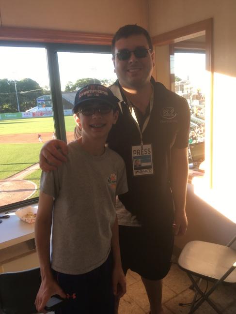 Andrew w Brendan Connelly WATD Reporter 95-9 FM.JPG