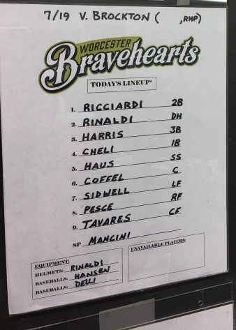 Bravehearts lineup